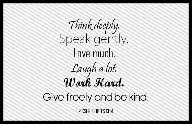 Quotes about Speak gently (51 quotes)