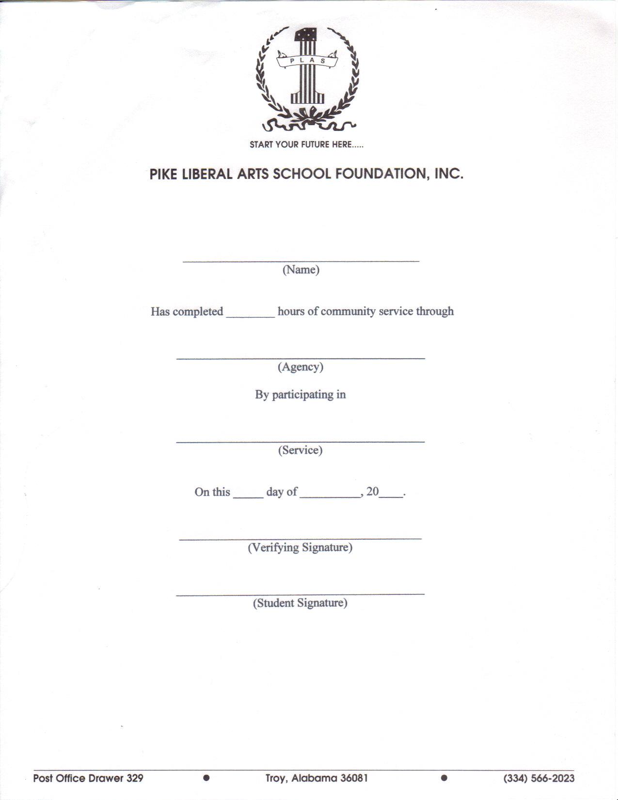 Unique Service Hour Form Images - Resume Ideas - bayaar.info