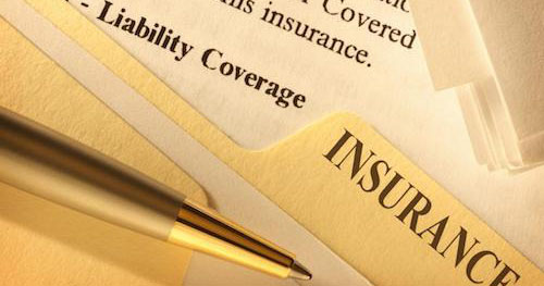 A pen and the words Liability Coverage Insurance