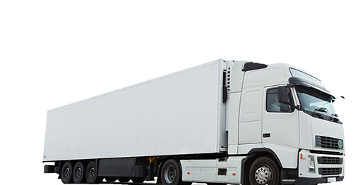 HGV Insurance represented by a white HGV truck