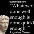Augustus caesar i found rome a city of bricks and left it a city of