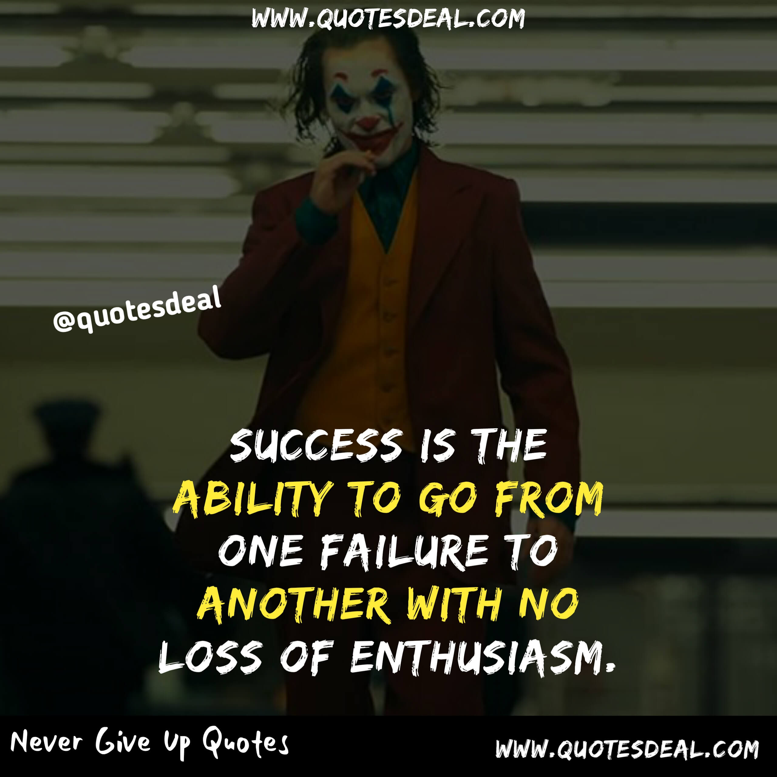 Success is the ability