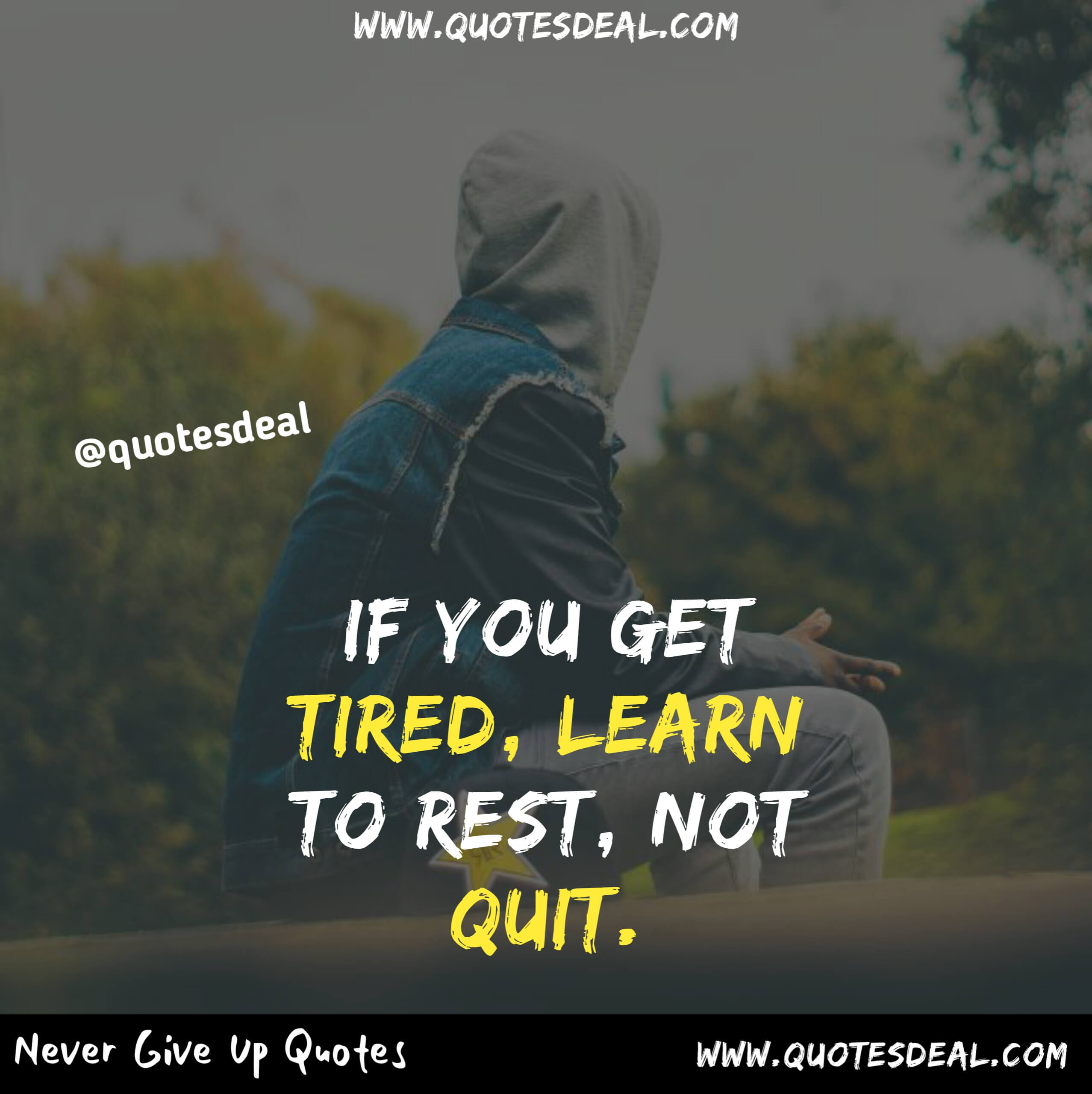learn to rest