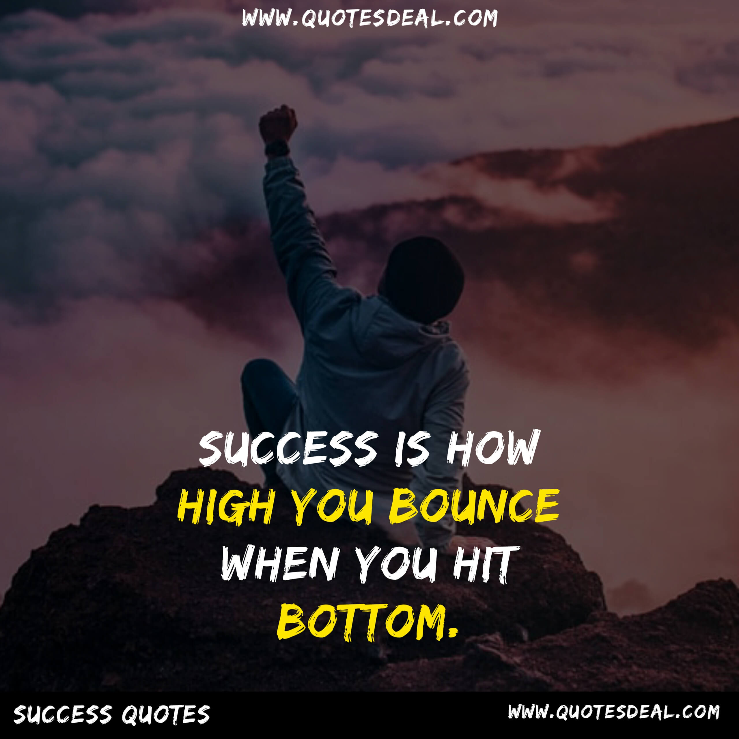 Success is how high