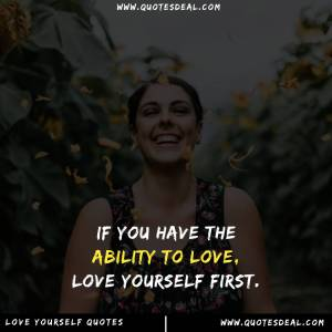 the ability to love
