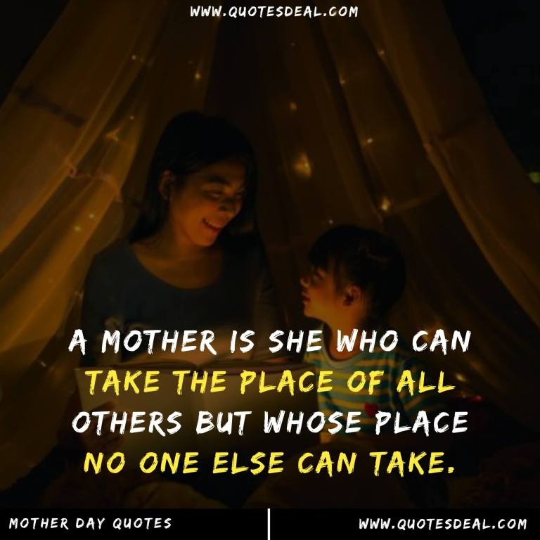 mother is she who