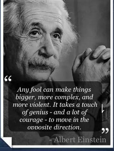 Fool Einstein Quotes