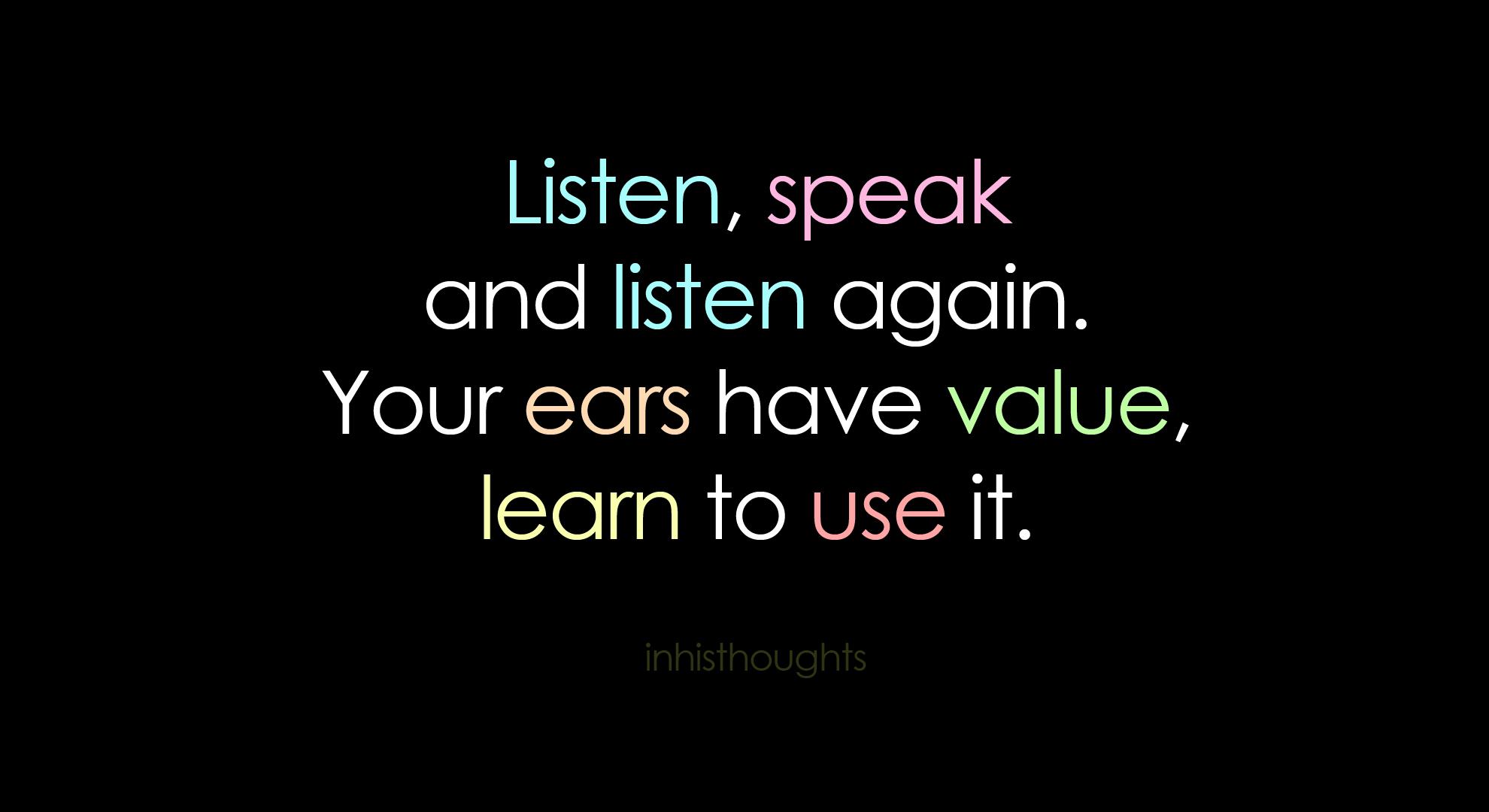 Listening Ears Active Worksheet