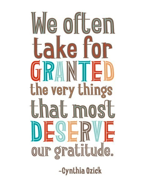 Image result for take things for granted