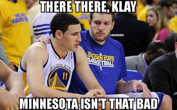 Fake Klay Thompson Meme