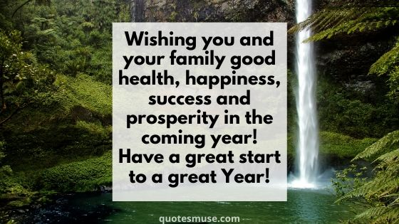 100 Happy New Year to You and Your Family