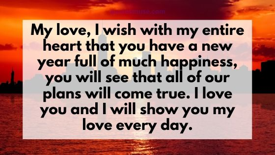 100 Romantic New Year Wishes for Loved One