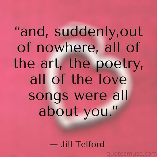 30 Love Song Quotes Spoken from Your Soul