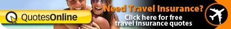 QuotesOnline offering free Travel insurance quotes