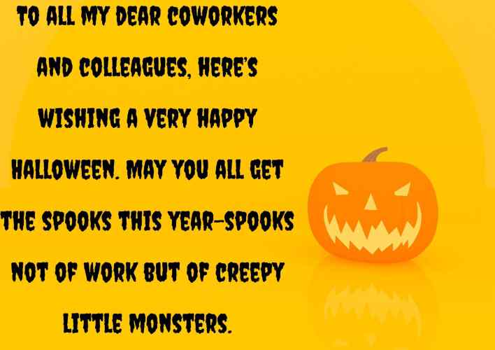 halloween messages for coworkers pics