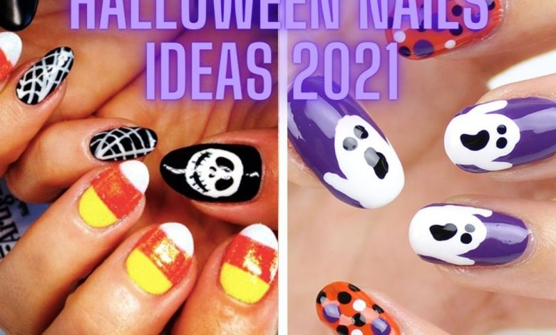 Halloween nails ideas 2021 images