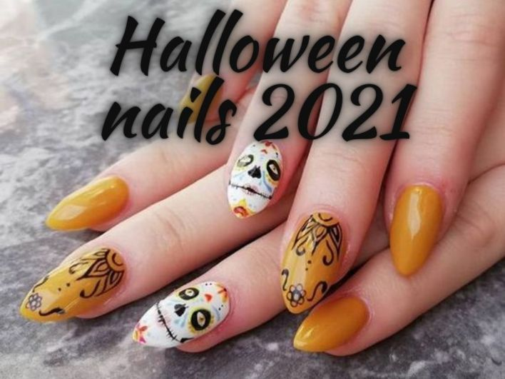 Halloween nails 2021 Images