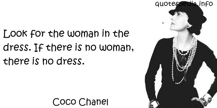 Coco Chanel Quotes About Women. QuotesGram