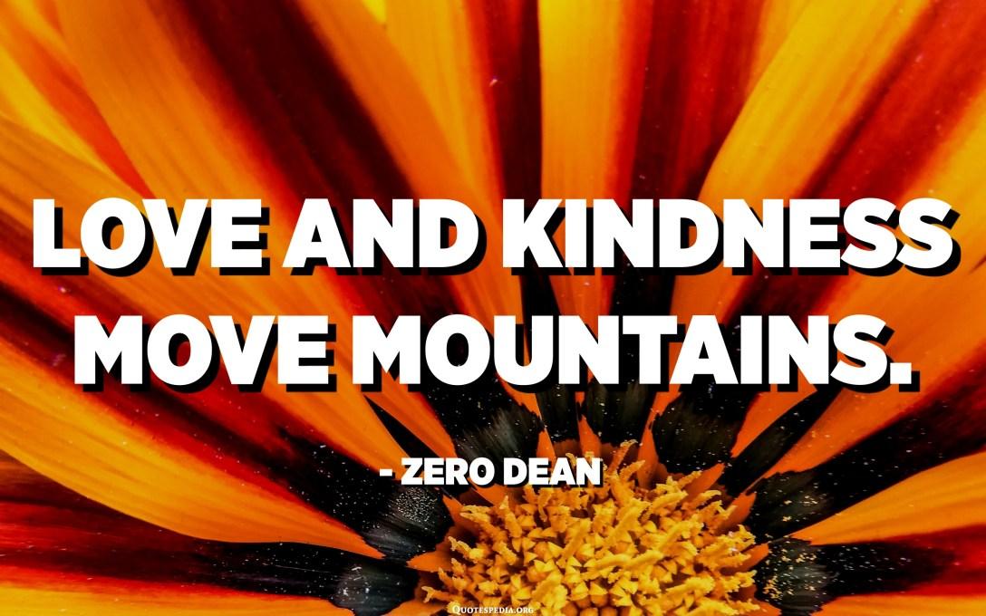 La ira i l'odi caven forats. L'amor i l'amabilitat mouen muntanyes. Trieu la vostra motivació amb prudència. - Degà Zero
