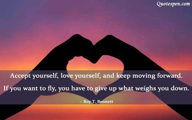 love yourself english quotes