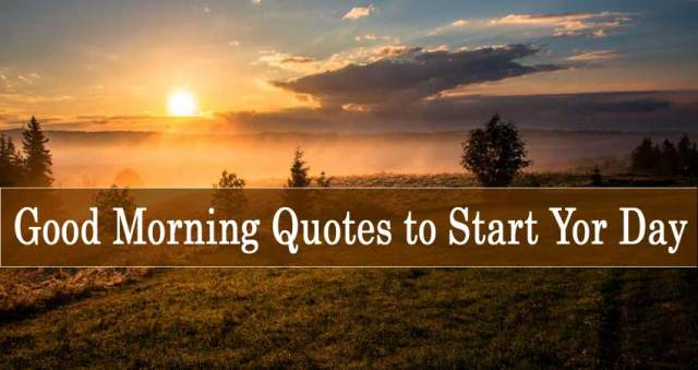 good-morning-quotes-english