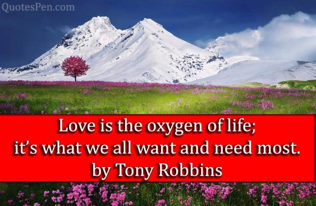 love-is-the-oxygen-quote