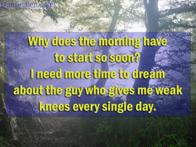 why-does-the-morning-quote