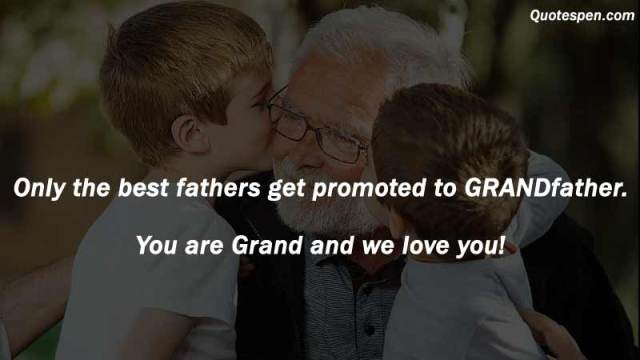 Father's Day Messages to Grandfather
