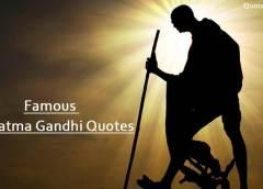 Best Mahatma Gandhi Ji Quotes on Education, Humanity, Equality, Leadership