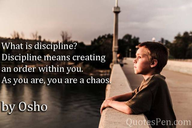 what-is-discipline-osho-quotes