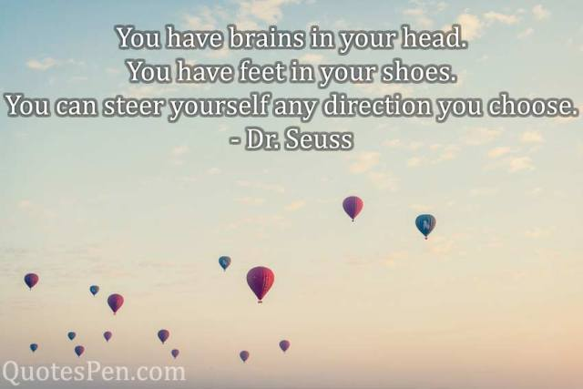 brains-in-your-head-it's a bad day not a bad life quote