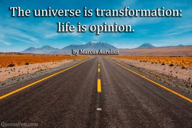life-opinion-Marcus Aurelius Quote