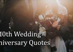 10th Wedding Anniversary Quotes with Images
