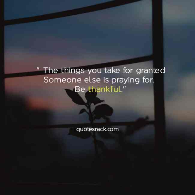 a thankful quotes