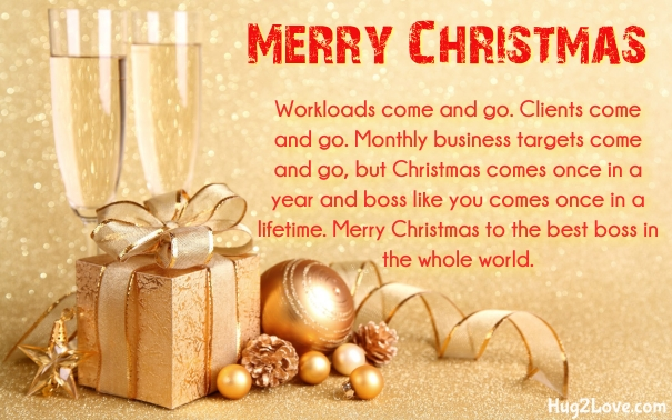Nice christmas message to your boss christmaswalls 50 christmas wishes for boss 2017 respectful quotes xmas m4hsunfo