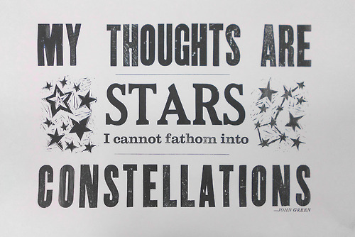 Image result for my thoughts are stars i cannot fathom