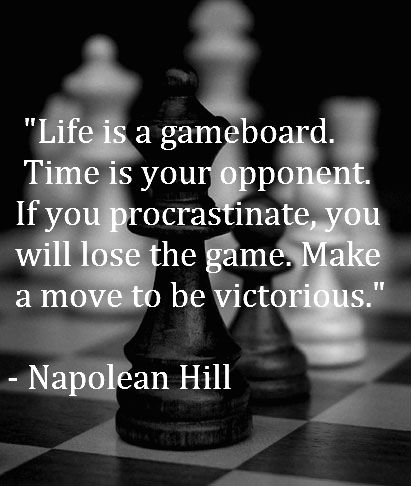 Motivational Weight Loss Quote Wallpaper Life Is A Gameboard Time Is Your Opponent If You