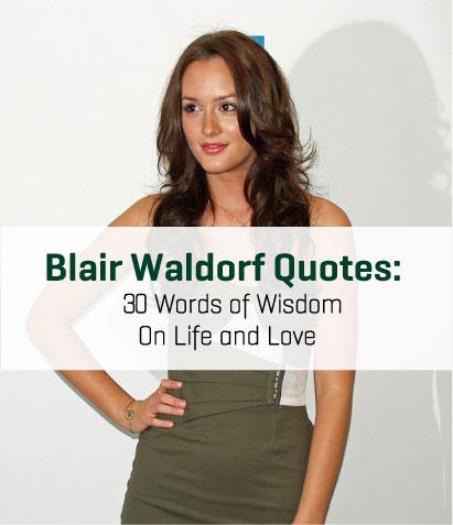 blair waldorf love quotes - photo #8