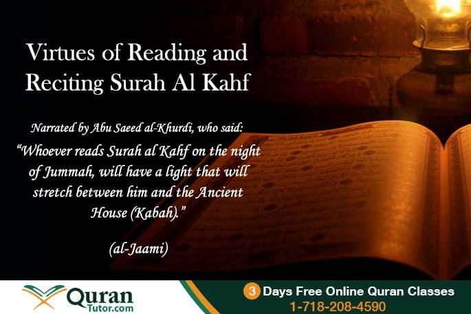Rewards of Surah Kahf