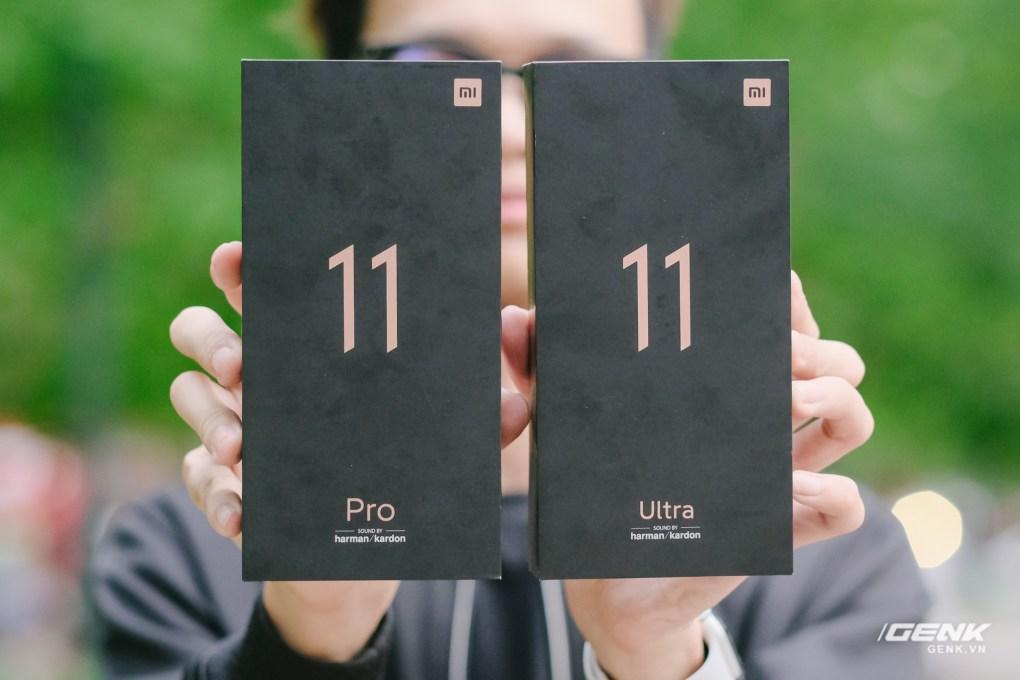 Trên tay Xiaomi Mi 11 Pro và Mi 11 Ultra: Nâng cấp chính về camera và sạc nhanh, bản Ultra có 2 màn hình cực chất, giá từ 20 triệu đồng - Ảnh 1.