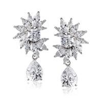 Qvc Clip On Earrings Judith Ripka Sterling Diamonique 3 95 ...