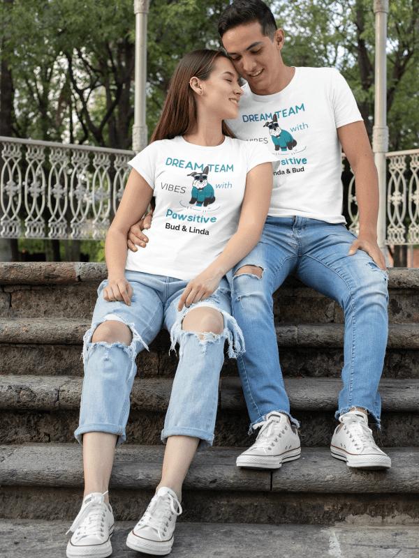"Unisex T-Shirt ""Pawsitive"""