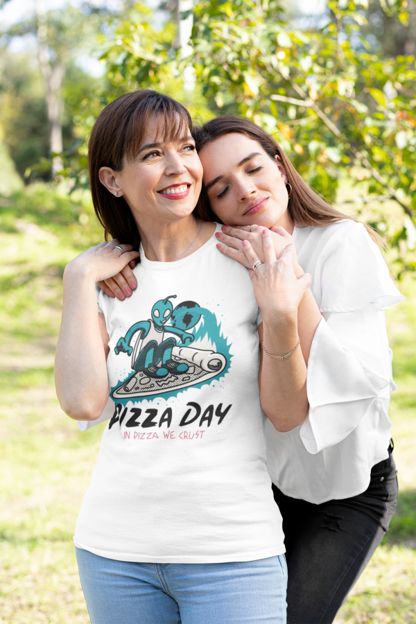 Pizza day with family