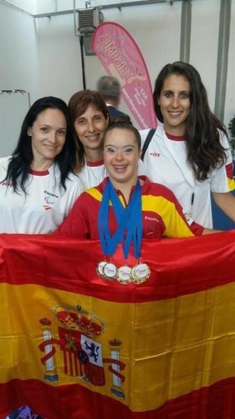 Sara-Marín-consigue-cinco-medallas-de-oro-en-gimnasia-rítmica.-Diario-Información