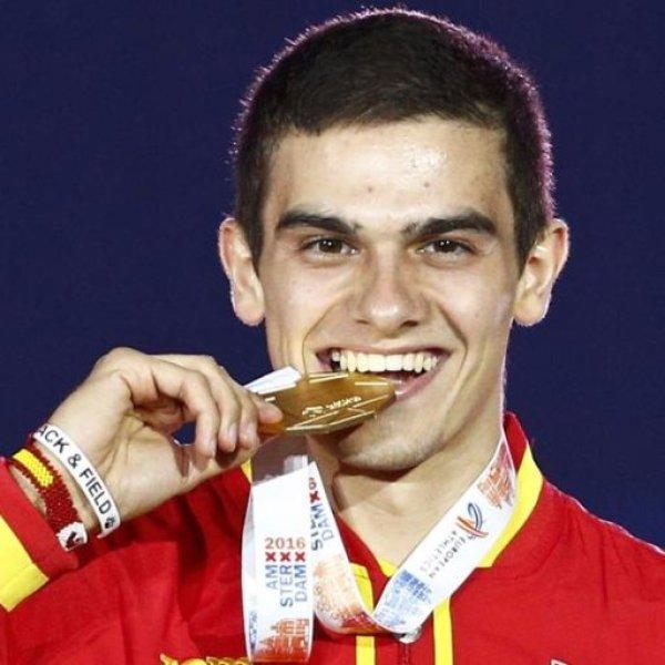bruno hortelano medalla oro