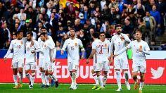 jugadores-Espana-celebran-goles-Francia