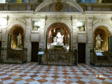 capillas catedral malaga