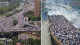 Vistas-manifestacion-ciudad-Caracas-Venezuela