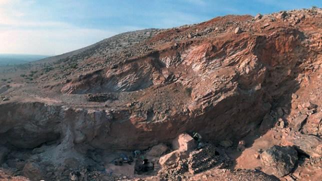 marruecos arqueologia jebel