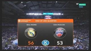 madrid CSKA 2017 3 cuarto final